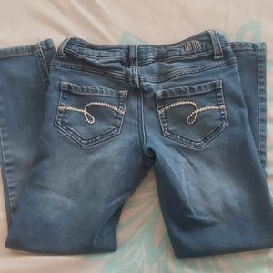 Girls Size 7 Super Skinny Justice Jeans
